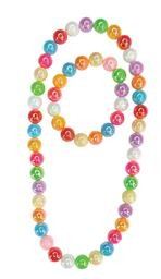 Colour Me Rainbow Necklace and Bracelet Set