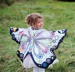 Colour A Butterfly Wings Size 4-7