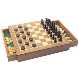 Chess/Draughts Set