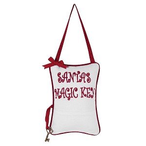 Santa's Magic Key Pillow