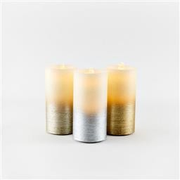 Metallic Water Wick Candle