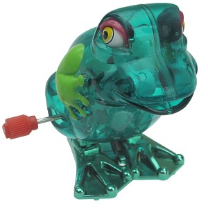 Winky the Hopping Frog - Wind Up