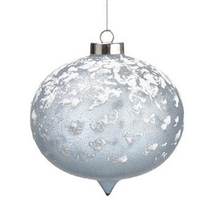 Snowed Glass Ornament - 4.5'