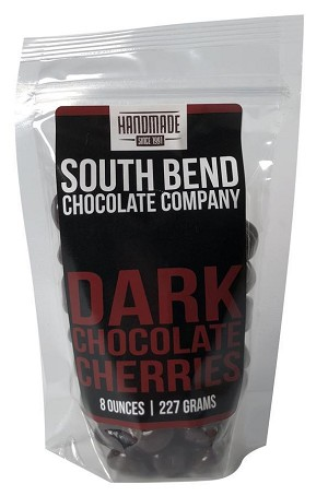 Dark Chocolate Covered Cherries - Handmade 8oz