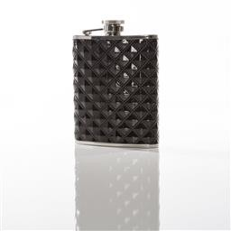 Black on Black Flask 6 Oz