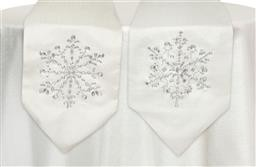 Gem Snowflake Table Runner